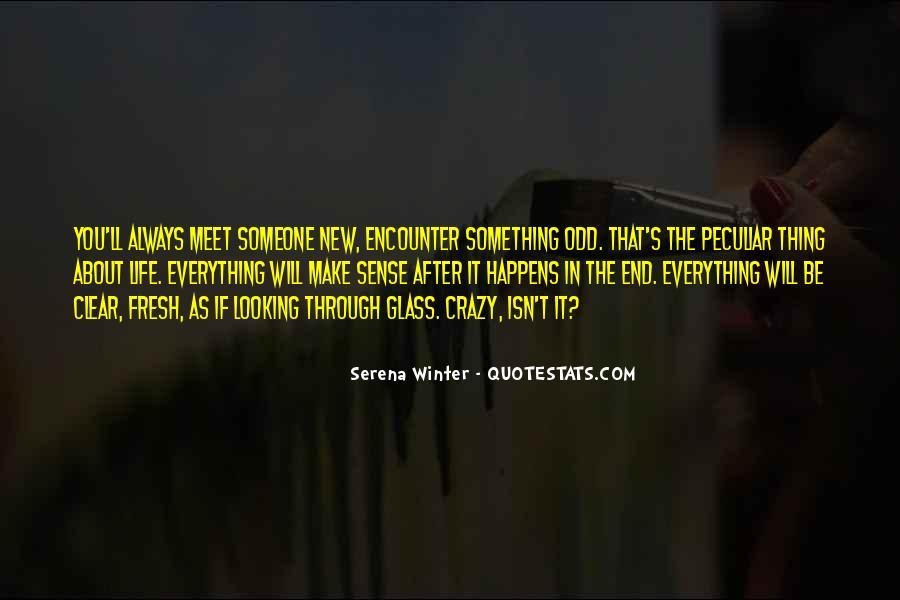 Serena Winter Quotes #483617