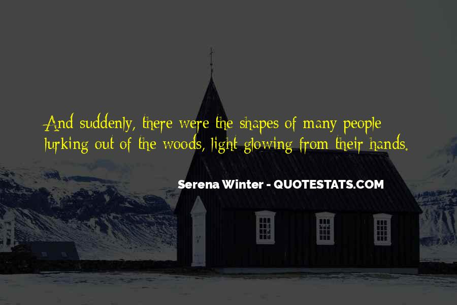 Serena Winter Quotes #643507