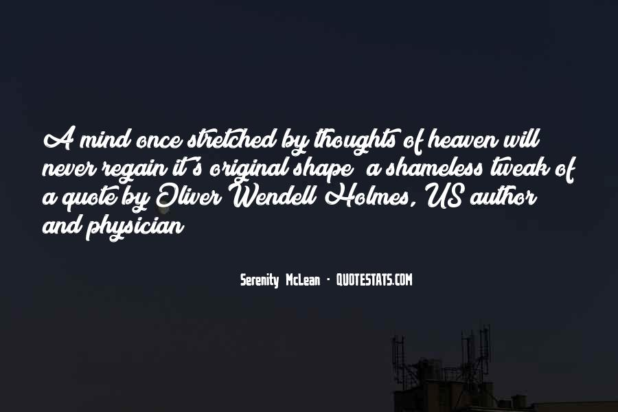 Serenity McLean Quotes #80724