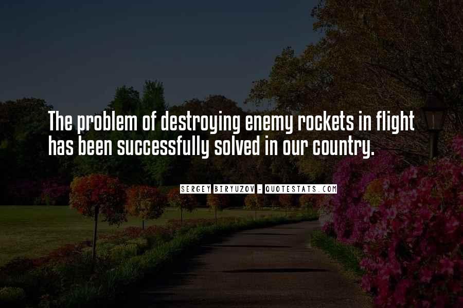 Sergey Biryuzov Quotes #54771