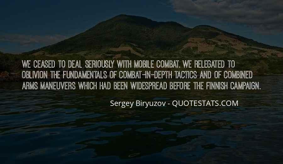Sergey Biryuzov Quotes #777121