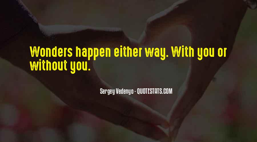 Sergey Vedenyo Quotes #1153907