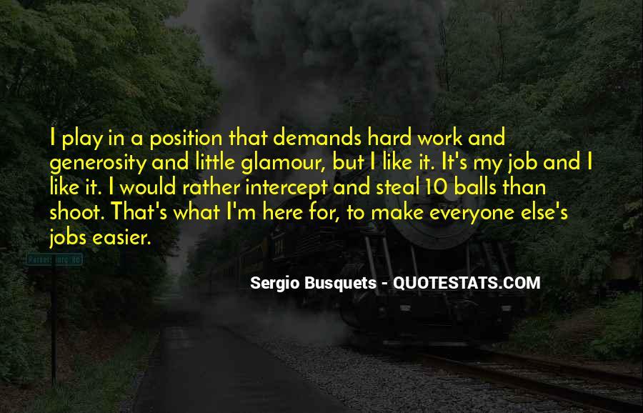 Sergio Busquets Quotes #794564