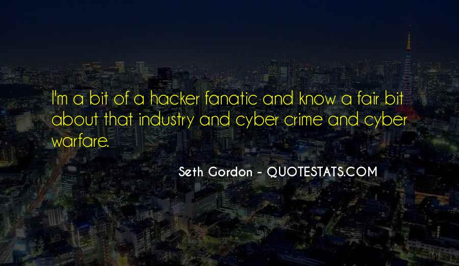 Seth Gordon Quotes #922381