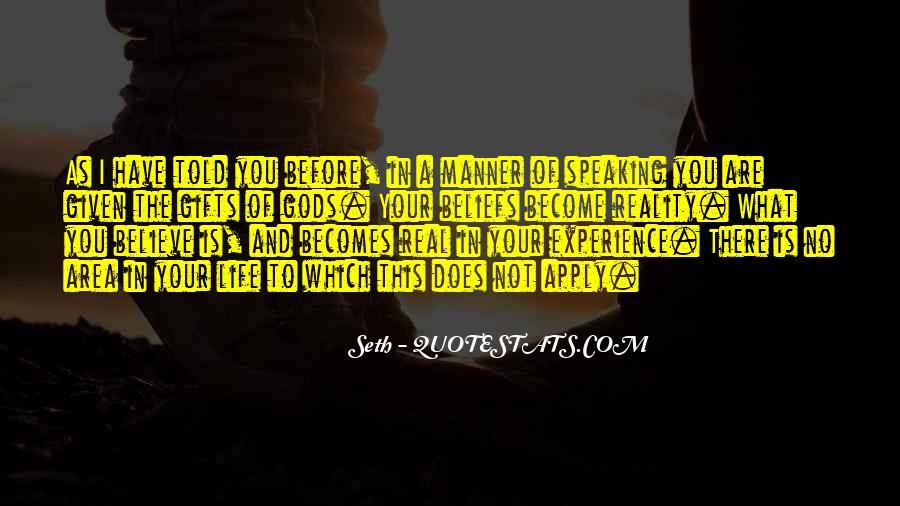 Seth Quotes #1393757