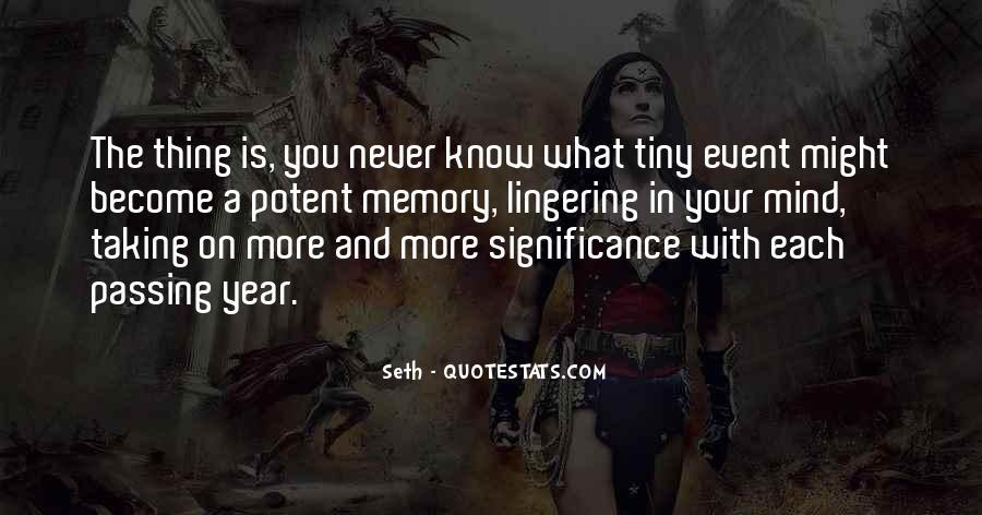 Seth Quotes #202660