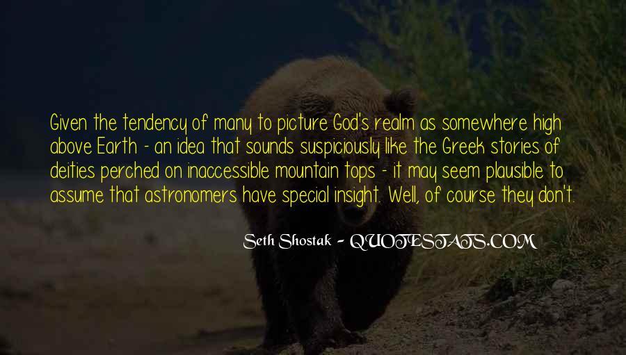 Seth Shostak Quotes #1007183