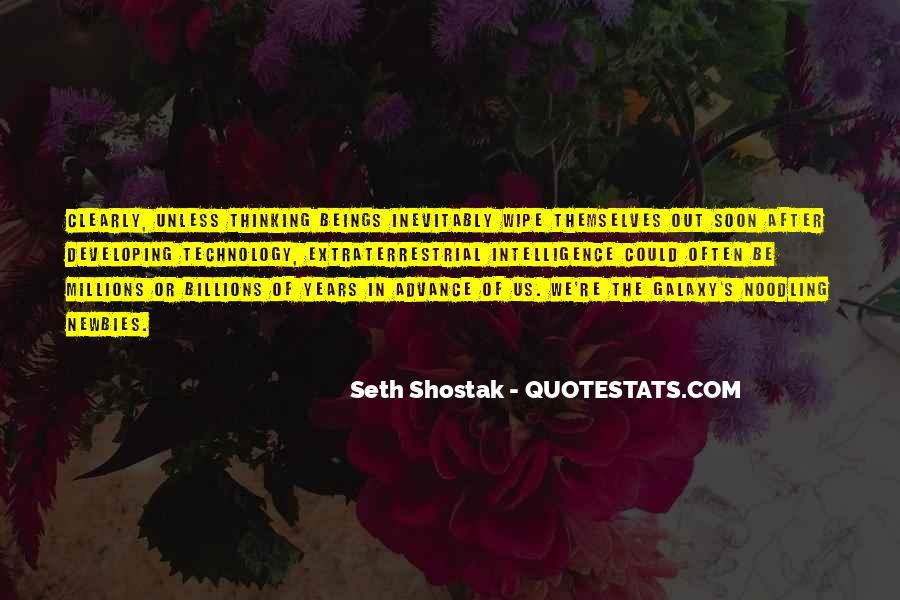 Seth Shostak Quotes #171743