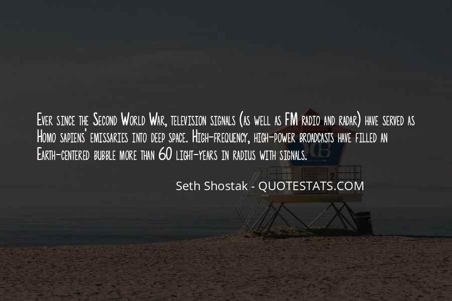 Seth Shostak Quotes #232474