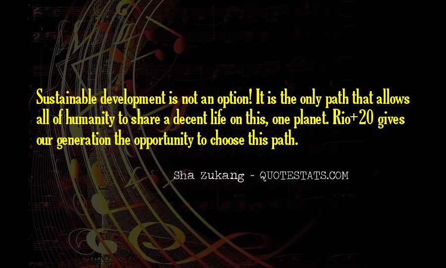 Sha Zukang Quotes #278903