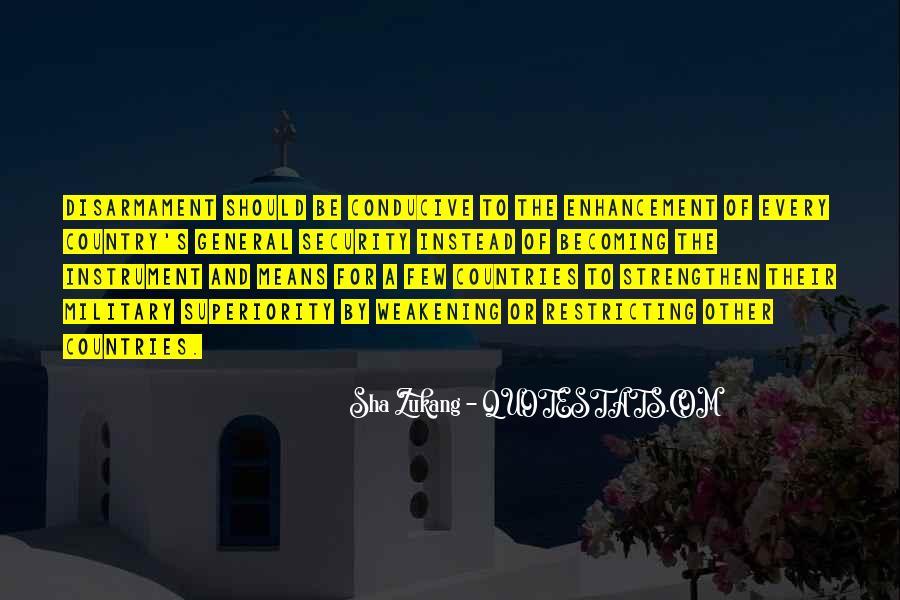 Sha Zukang Quotes #42097