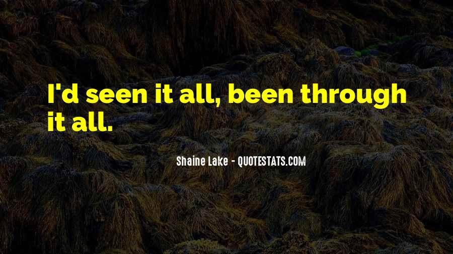 Shaine Lake Quotes #1280727