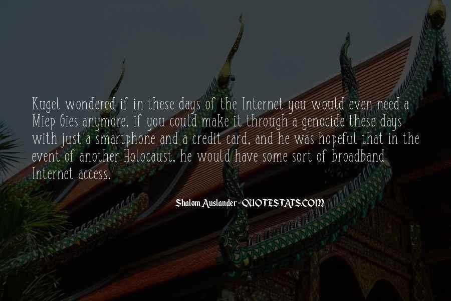 Shalom Auslander Quotes #1118609