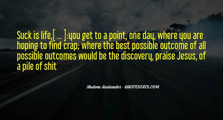 Shalom Auslander Quotes #1344034