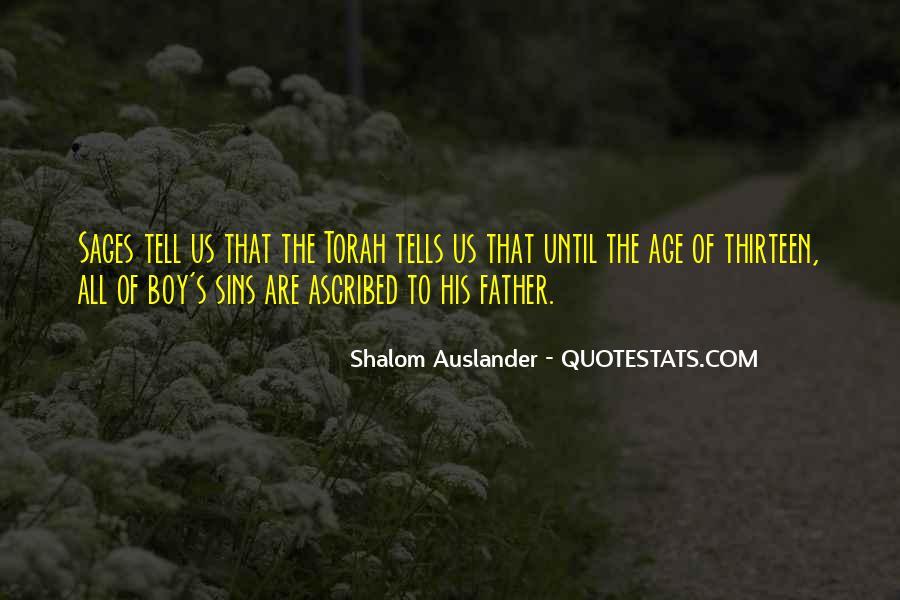 Shalom Auslander Quotes #680232