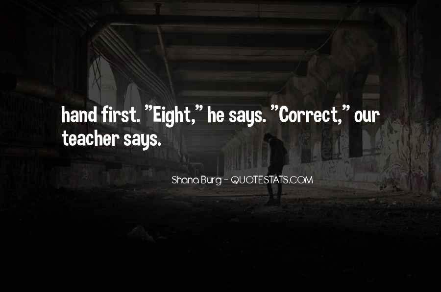 Shana Burg Quotes #243131