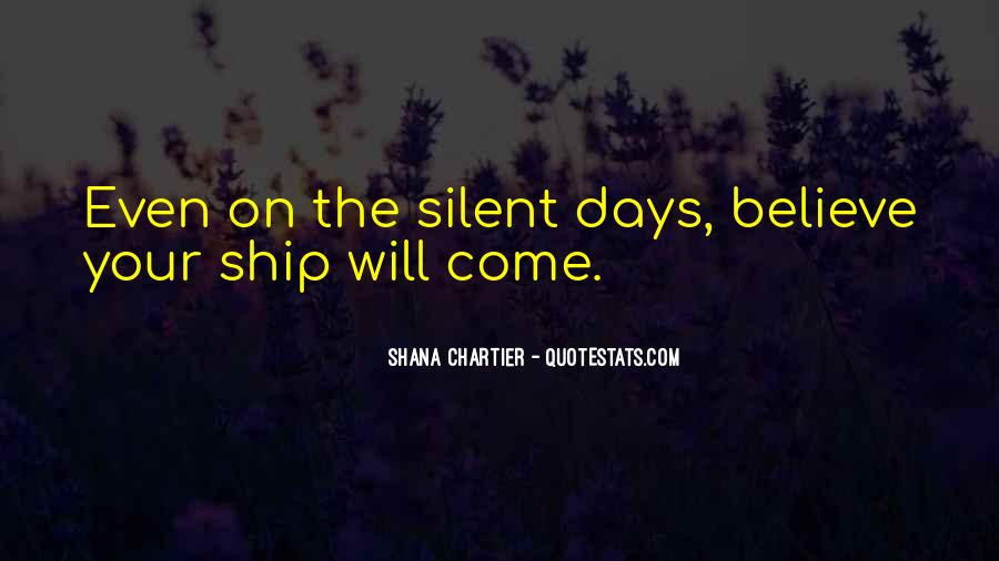 Shana Chartier Quotes #672636