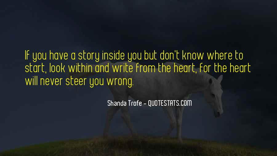 Shanda Trofe Quotes #264840