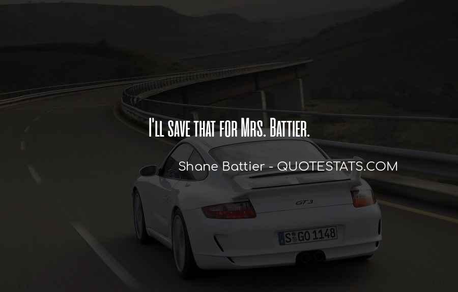 Shane Battier Quotes #921451