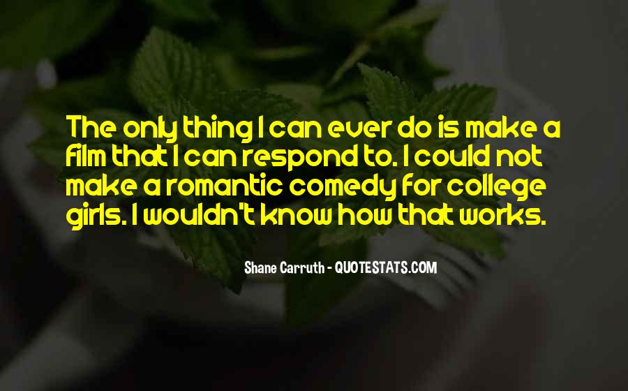 Shane Carruth Quotes #97012