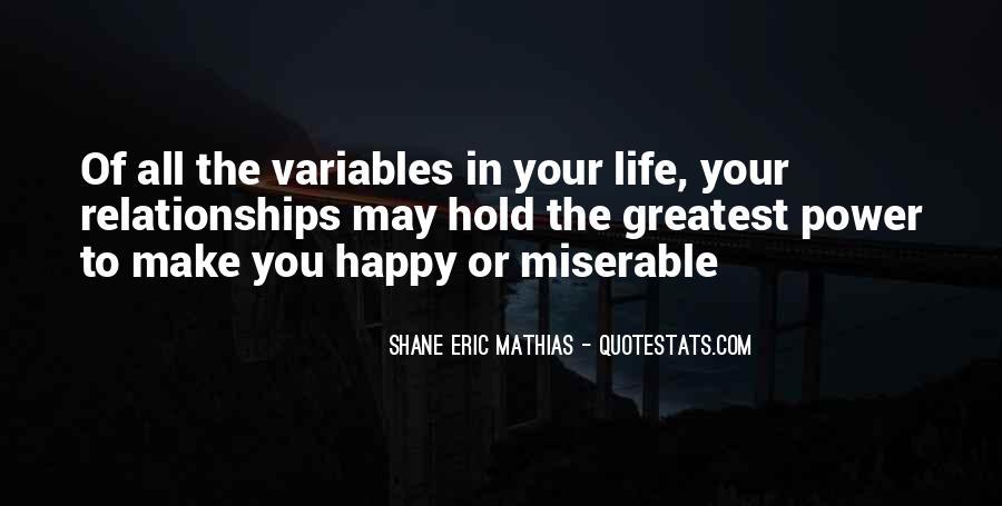 Shane Eric Mathias Quotes #471328