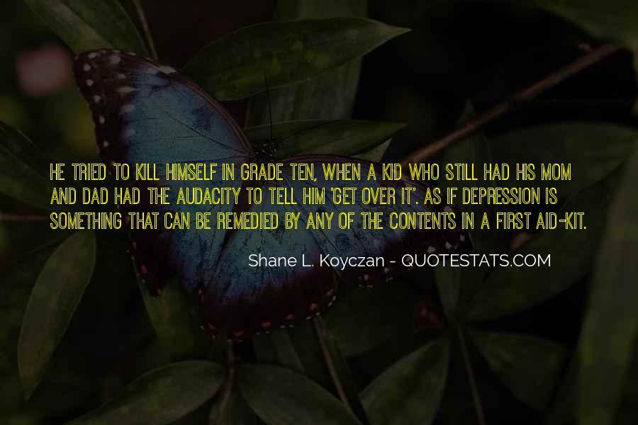 Shane L. Koyczan Quotes #616181