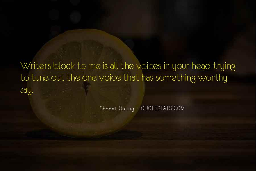 Shanet Outing Quotes #1128825