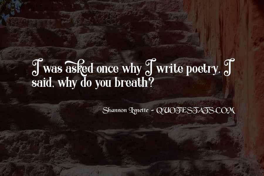 Shannon Lynette Quotes #1519470
