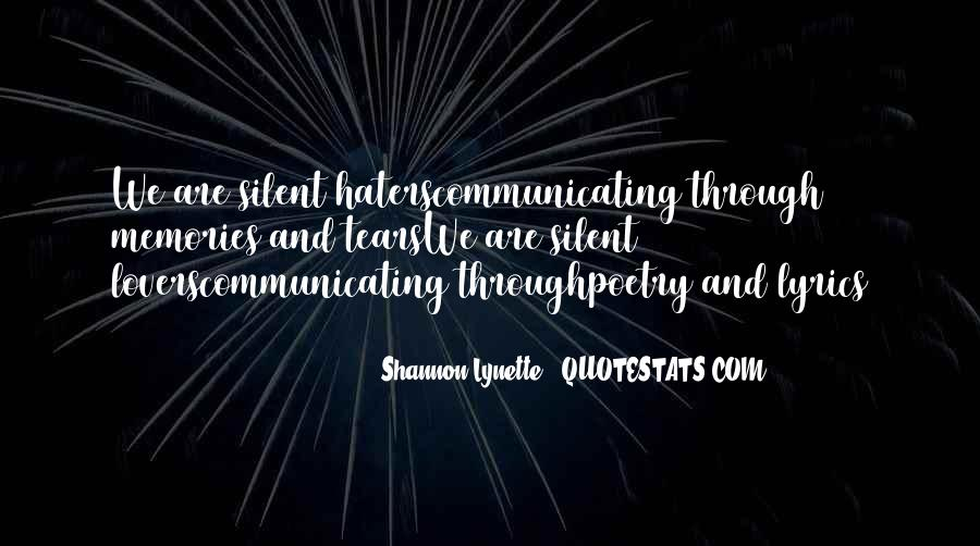 Shannon Lynette Quotes #1749722