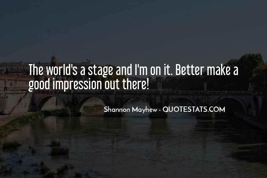 Shannon Mayhew Quotes #246255