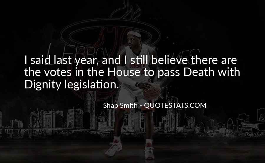 Shap Smith Quotes #1141799