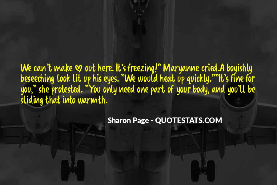 Sharon Page Quotes #1422367