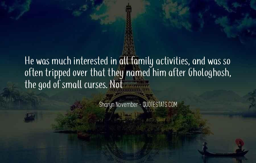 Sharyn November Quotes #825079
