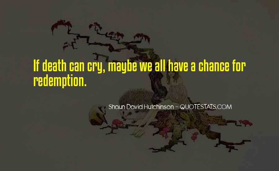 Shaun David Hutchinson Quotes #1134384