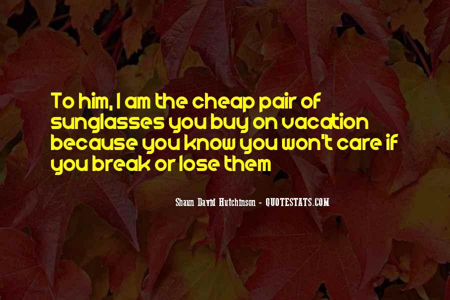 Shaun David Hutchinson Quotes #1475288