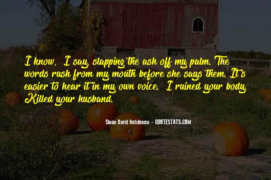 Shaun David Hutchinson Quotes #1529750
