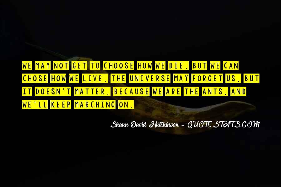 Shaun David Hutchinson Quotes #1718794