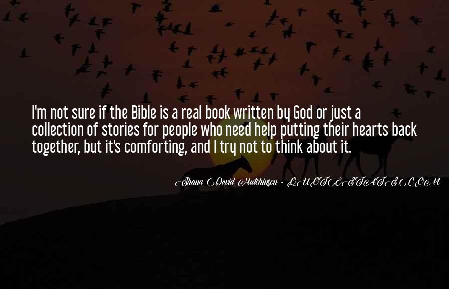 Shaun David Hutchinson Quotes #259595