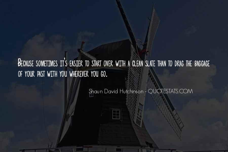 Shaun David Hutchinson Quotes #291769