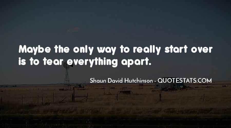 Shaun David Hutchinson Quotes #300413
