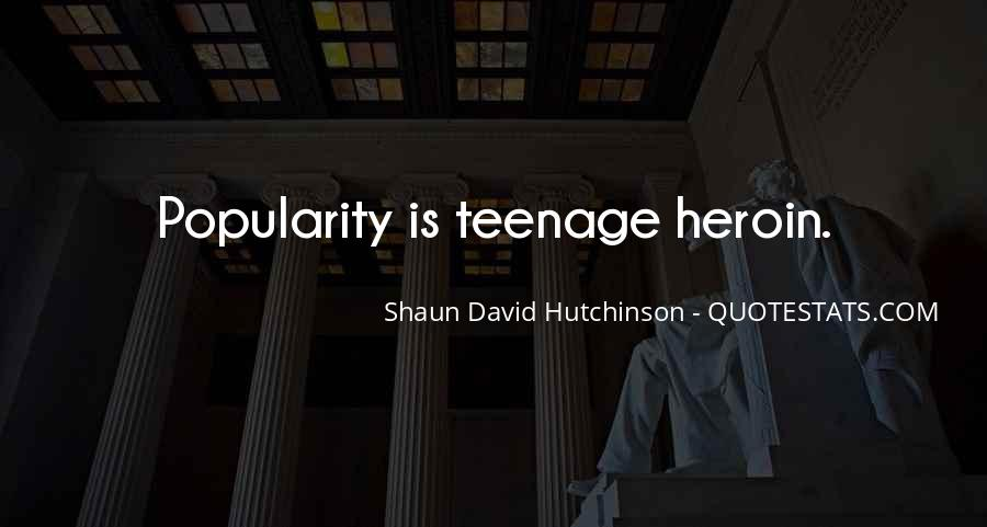 Shaun David Hutchinson Quotes #60683