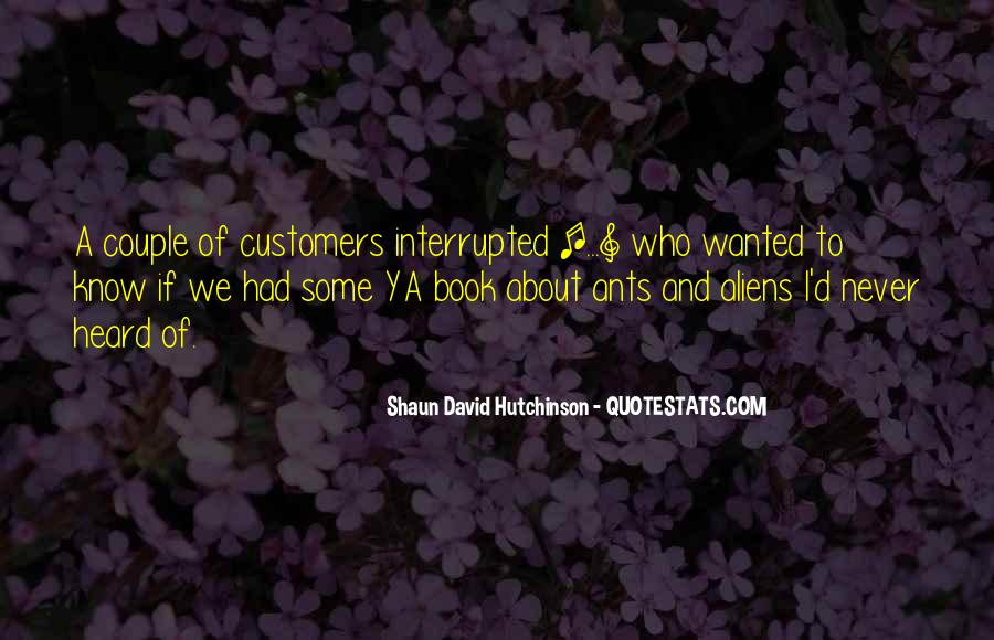 Shaun David Hutchinson Quotes #680580