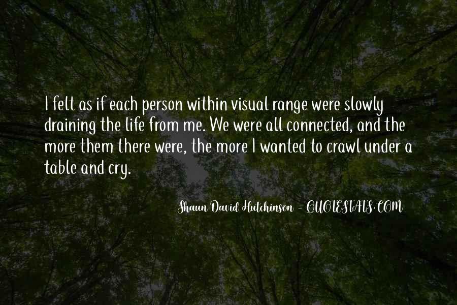 Shaun David Hutchinson Quotes #731985
