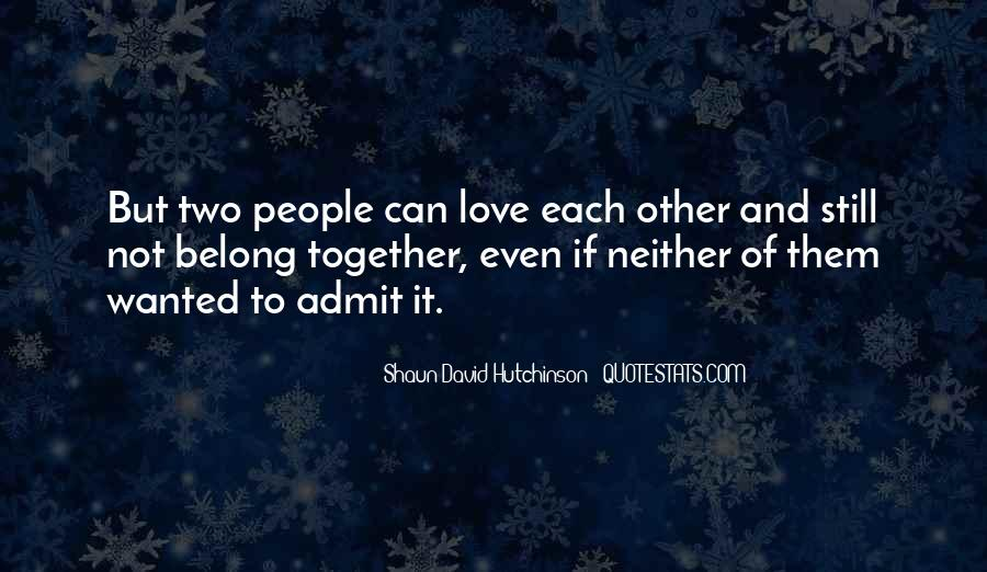Shaun David Hutchinson Quotes #755457