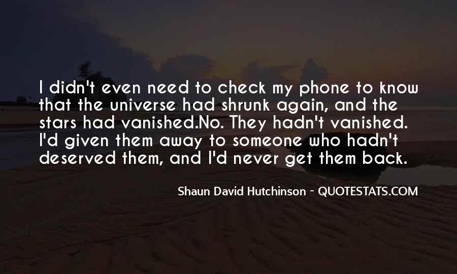 Shaun David Hutchinson Quotes #782821