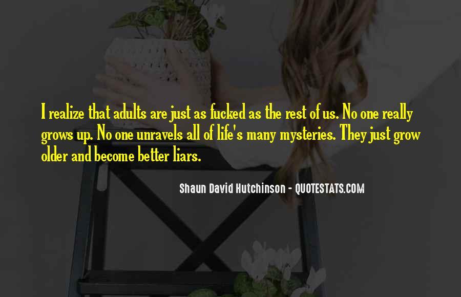 Shaun David Hutchinson Quotes #874074