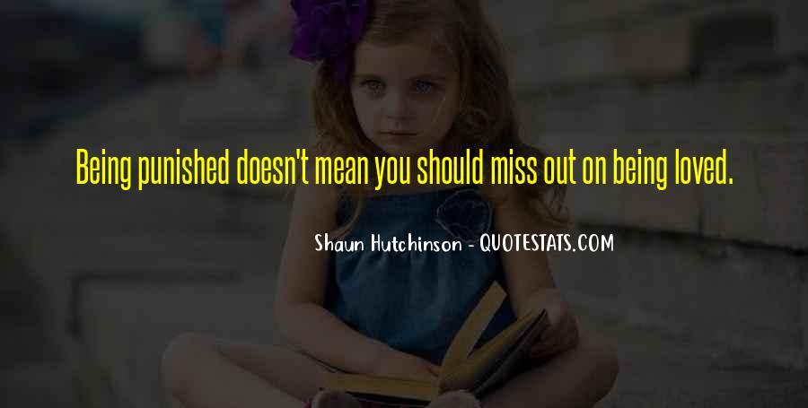 Shaun Hutchinson Quotes #46359