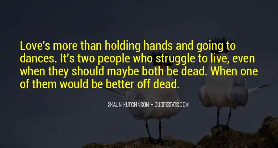 Shaun Hutchinson Quotes #918135