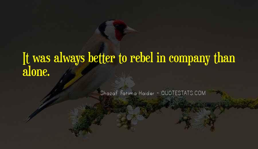 Shazaf Fatima Haider Quotes #1627424