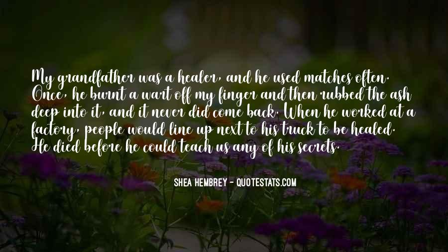 Shea Hembrey Quotes #1159928